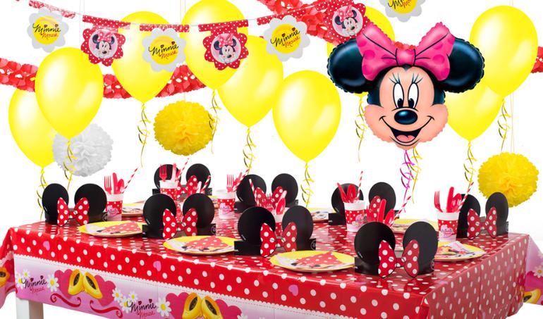 День рождения в стиле микки маус для девочки